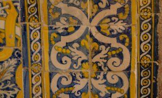 Fliesendekor im Kloster Santa Clara