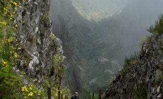 Georg im Abstieg kurz vor dem Pico do Gato