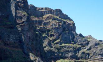der Pico das Torres (1847 m): wir umrunden ihn, keine Besteigung möglich