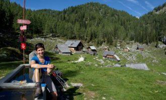 Rast am Brunnen von Dedno Polje