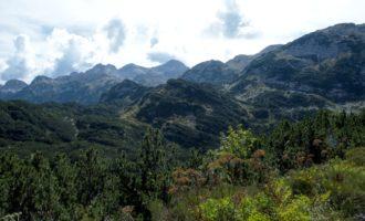 heisse Weiterwanderung hinter der Koca pod Bogatinom im Gracija-Tal