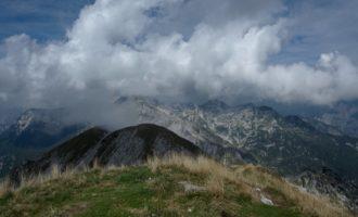 nochmals ein Blick nach Westen in Richtung Komna-Karstebene