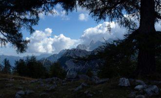 Rückblick Richtung Osten vom Slemenova Spica aus